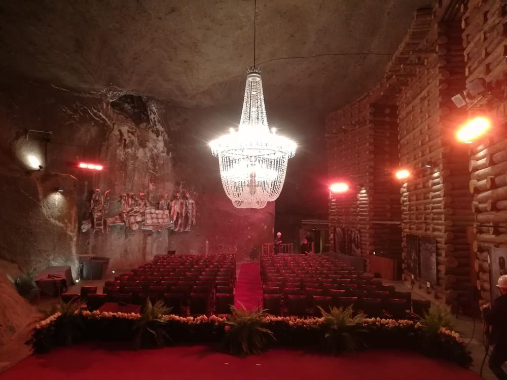 Ogrzewanie promiennikowe w Kopalni soli Wieliczka - Enerzon